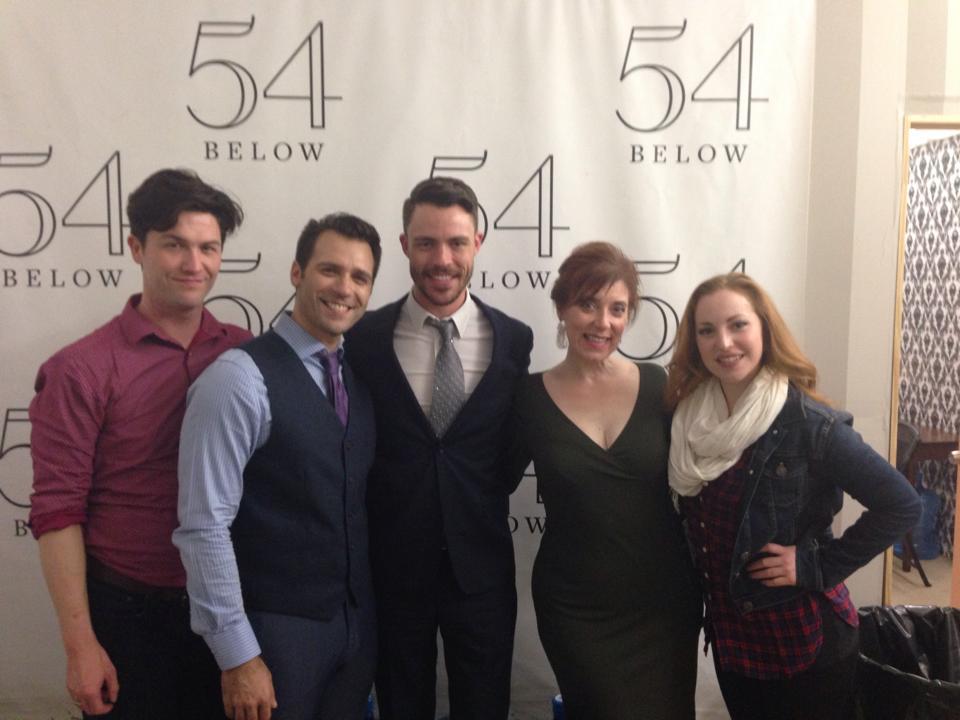 Company of  The Music of Scott Evan Davis , Concert at 54 Below