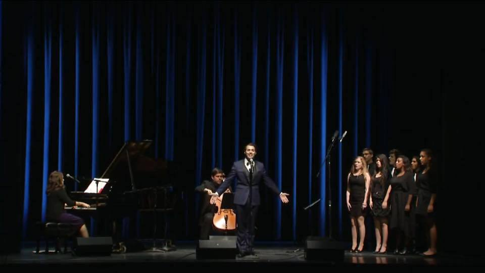 """Performance of """"I Am"""" at The Kennedy Center"""