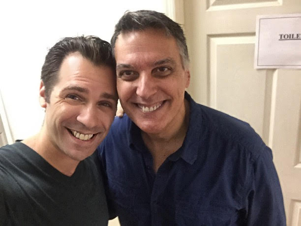 """In the Studio with Robert Cuccioli for """"Someone Else's Eyes"""" from  Next"""