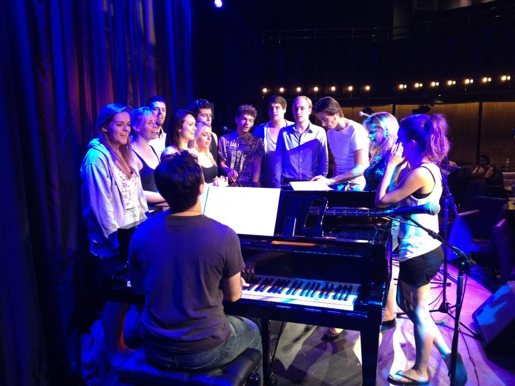 Rehearsal for The Hippodrome with students from MTA