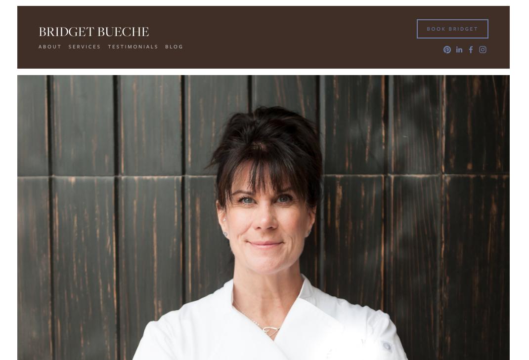 Bridget Bueche - New Website & Brand Strategy