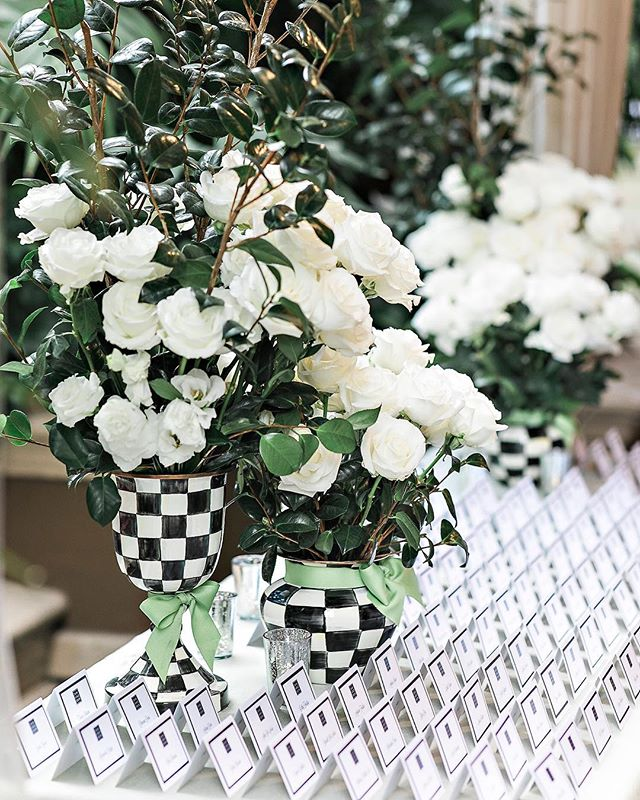 When the bride loves @mackenziechilds and uses that as her color inspiration 💚🖤 Click the link in our bio for all the pretty details as featured in @martha_weddings (Venue: @fslosangeles @fslosangelesevents |Design/Planning: @internationaleventco @margot_iec | Floral Design: @nancy_kaye for @marksgarden | Photographer: @jessicaclaire | Videographer: @elysiumweddings | DJ Band: @liventgroup | Lighting: @mjlightingdecor | Décor: @edgedesigndecor @devynnbydesign | Chairs: @palacepartyrental | Linens: @latavolalinen | Photo Booth: @mirmirphoto | Hair&Makeup: @makeuptherapy | Wedding Dresser: @asitbridal | Printed Material: @letspartyinvitations)