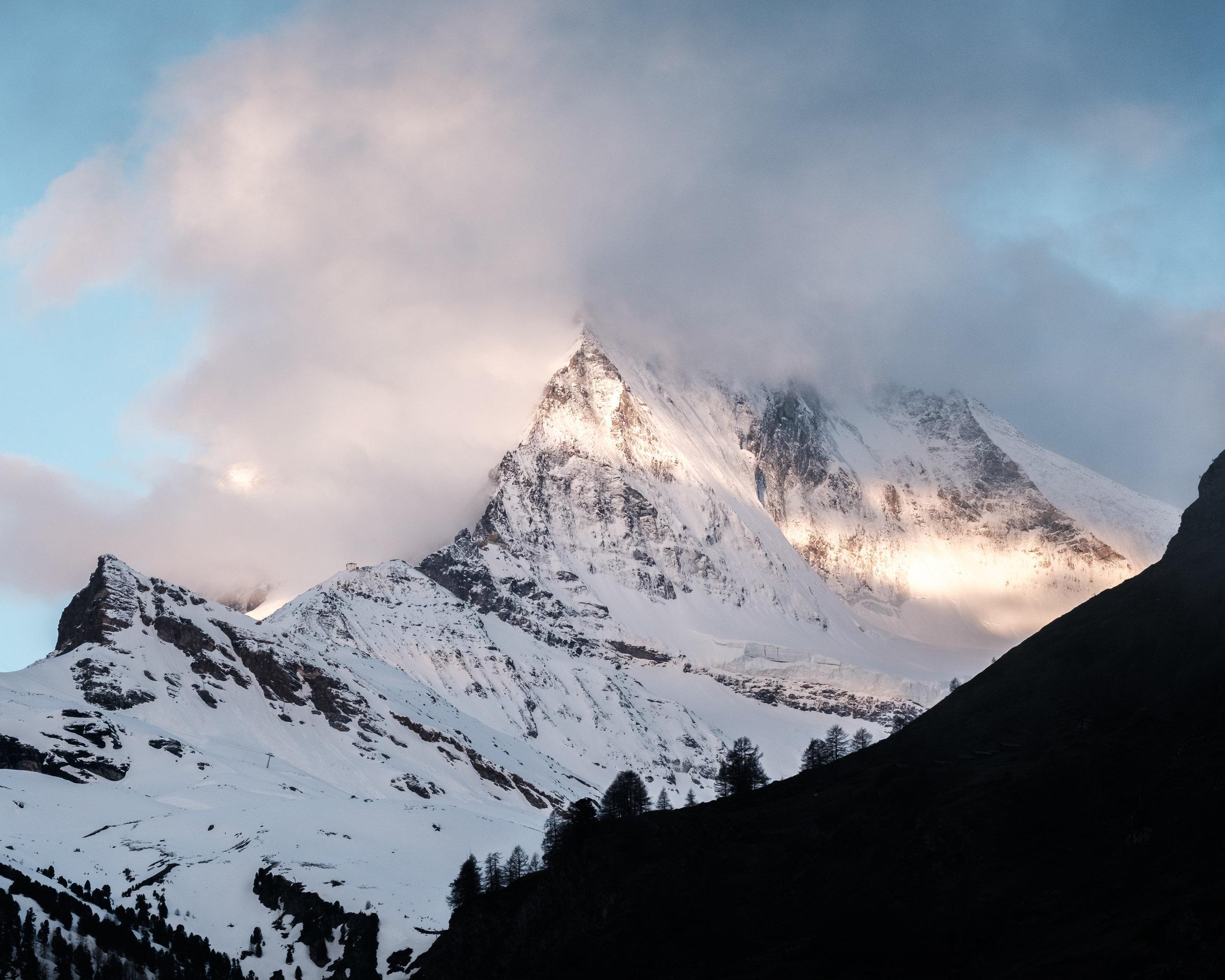 One week in Zermatt. -