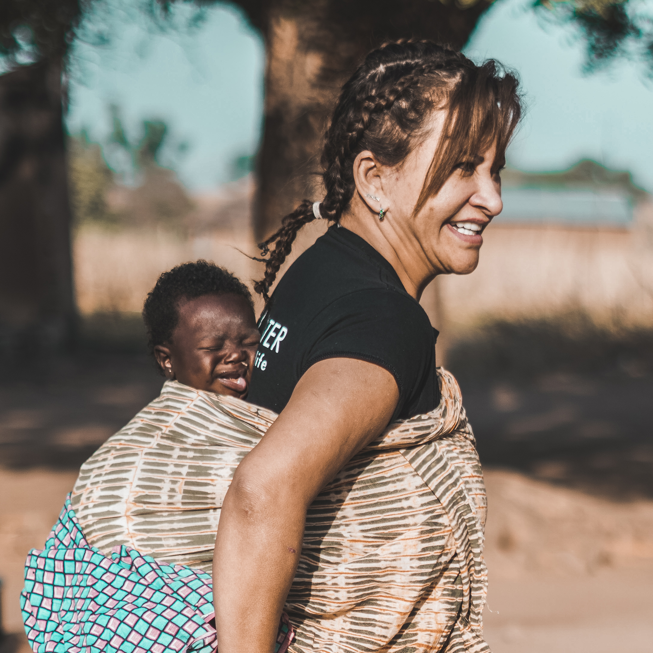 MELBA - Hi I am Melba! I love well water because I am passionate about changing peoples lives. I went to Nigeria in December to open the first well and that experience alone changed my life. I can't wait to play my part in building a school for the children of Koma!I can't wait to see the difference WellWater is going to make in the coming years, I have a particular vision for making sure every person has footwear and I will be working towards that!Fun fact about me is that I have been dancing salsa since I was a little girl and this is my favourite thing to do when I'm with my family and friends!