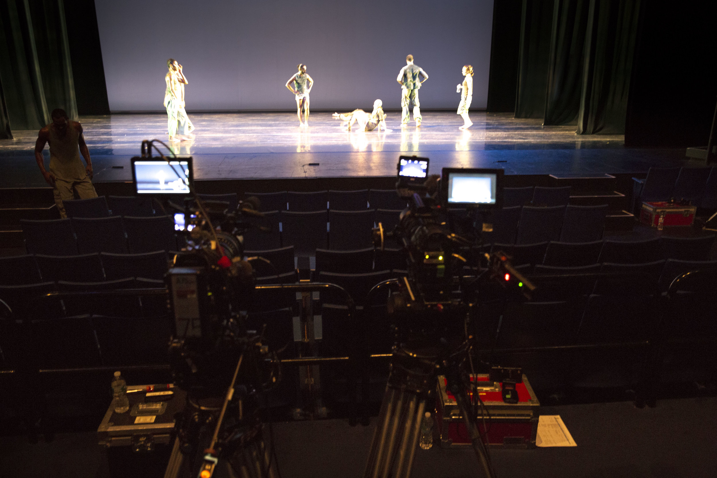 Filming D-Man at Purchase College Performing Arts Center 2015 3.jpg