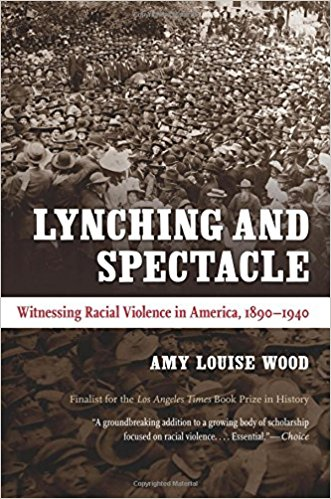 Lynching and Spectacle: Witnessing Racial Violence in America, 1890-1940   (2009)  By Amy Louise Wood