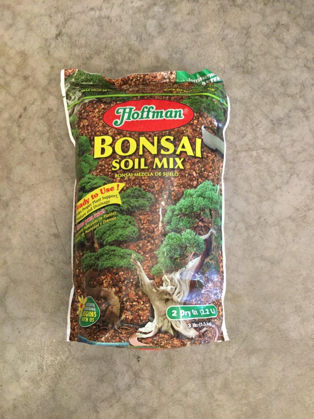Hoffman Bonsai Soil Mix 2 Qt Iowa City Landscaping