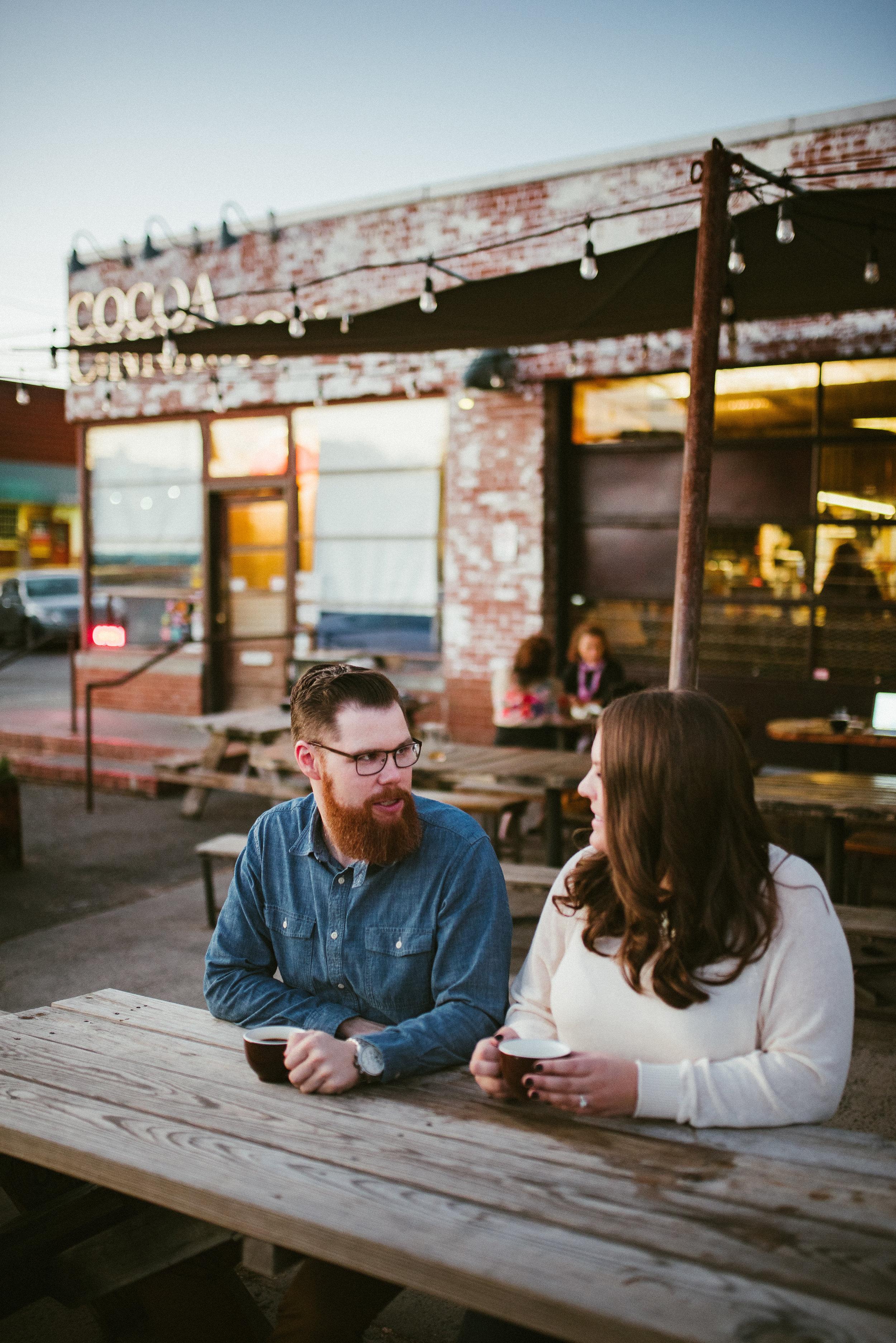durham engagement - durham wedding photographer - downtown durham shoot - raleigh photographer