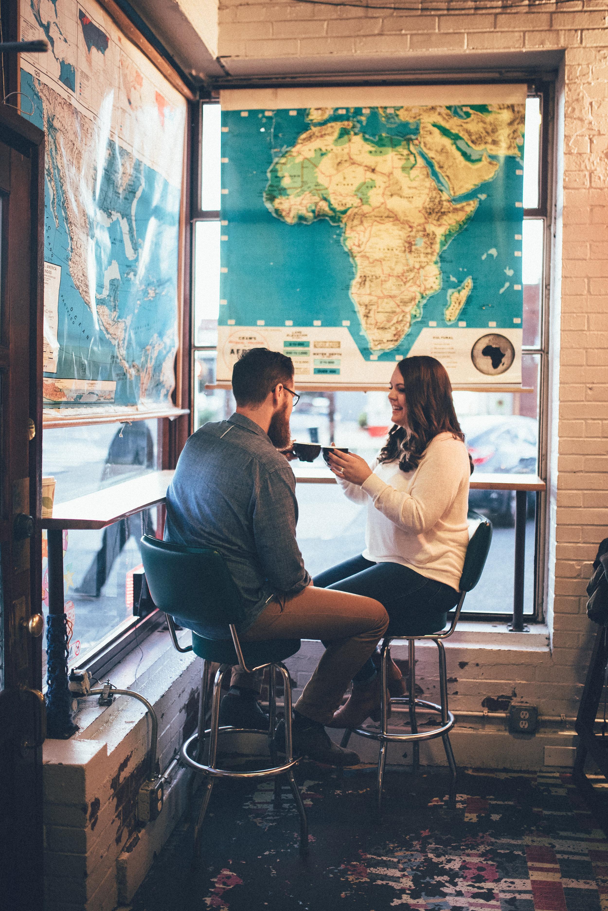 durham engagement - durham wedding photographer - downtown durham engagement - raleigh photographer