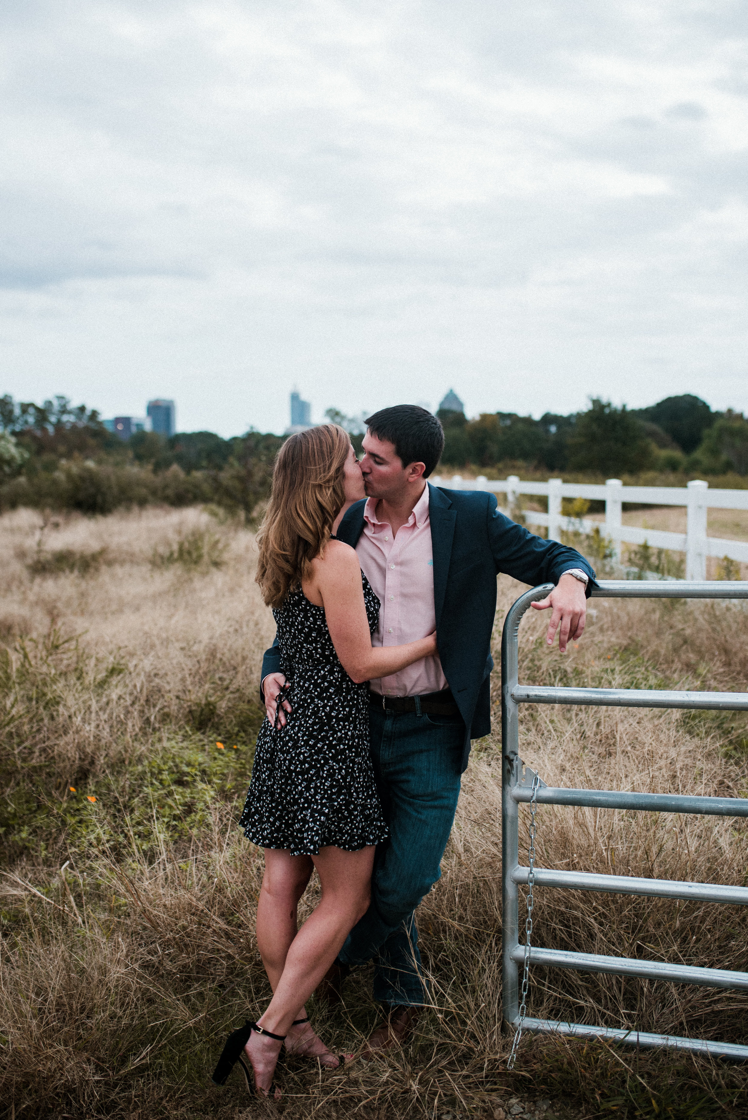raleigh photographer - raleigh engagement - dorthea dix park - dorthea dix engagement