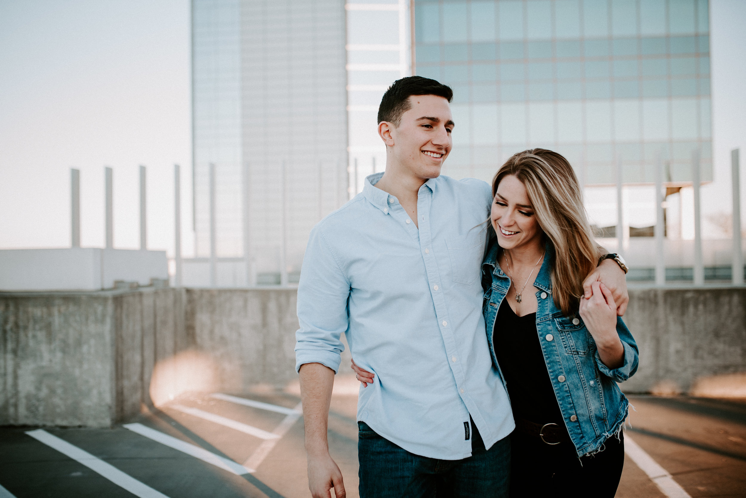 Downtown Raleigh Engagement - Brewery Engagement - Raleigh Photographer - North Carolina Photographer