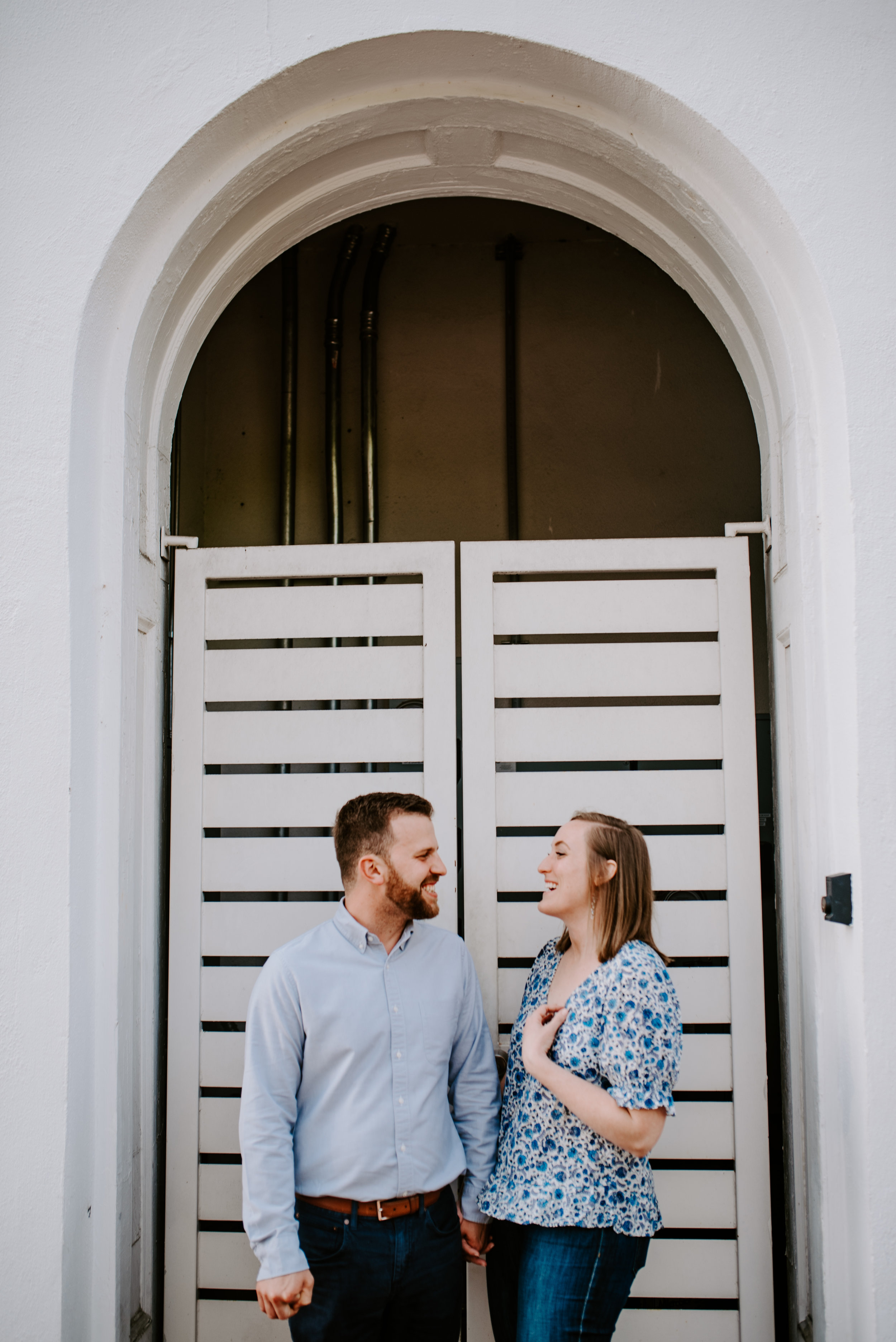 Downtown Raleigh Engagement - Raleigh photographer - Raleigh Engagement Shoot - Joanna Sue Photography