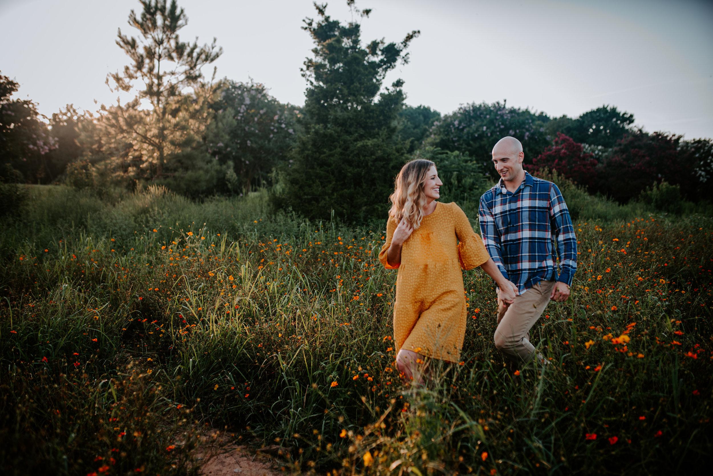 Whiskey Kitchen Engagement - Dorthea Dix Park Engagement - Raleigh Wedding Photographer - Raleigh Engagement Photographer - North Carolina Wedding Photographer