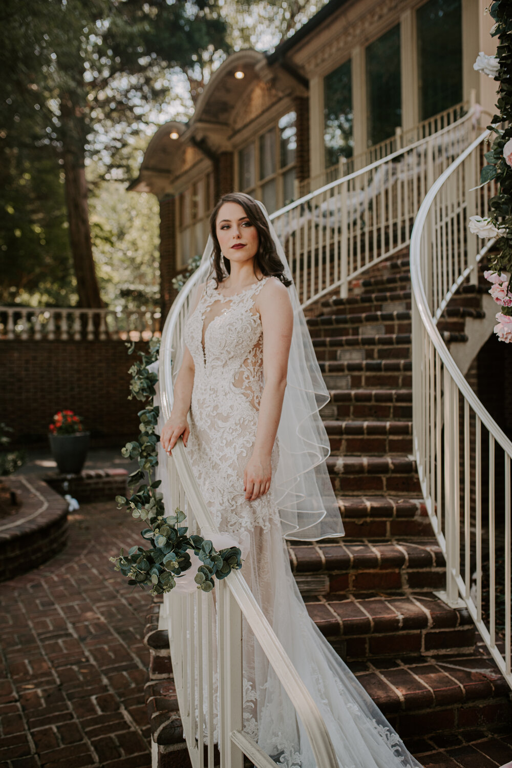 Abigail and Collin   Mosteller Mansion Wedding Hickory Wedding ...