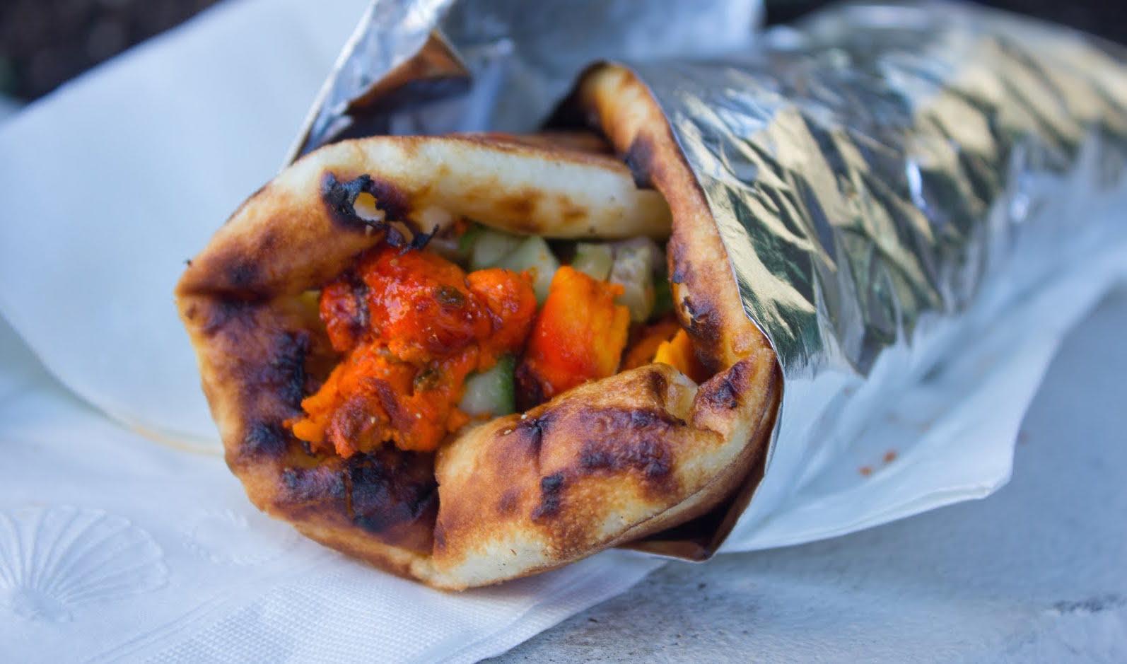 Lunch - Tandoori Chicken Sandwich