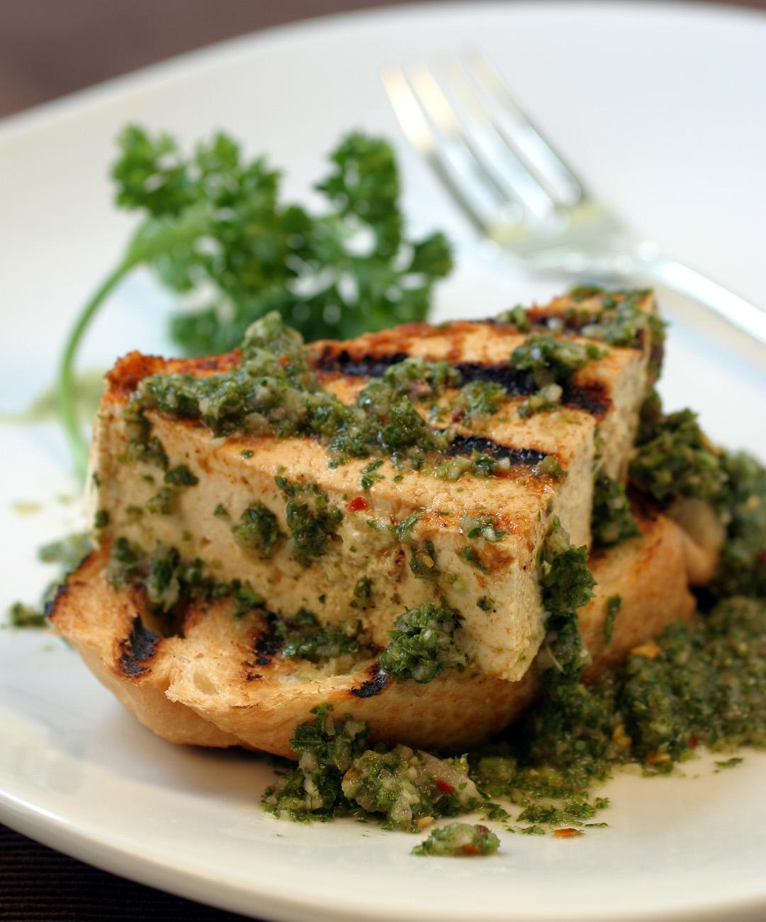 Chimichurri Tofu -