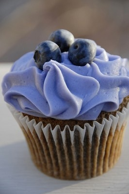 BLUE - LEMON FROSTED BLUEBERRY MUFFIN