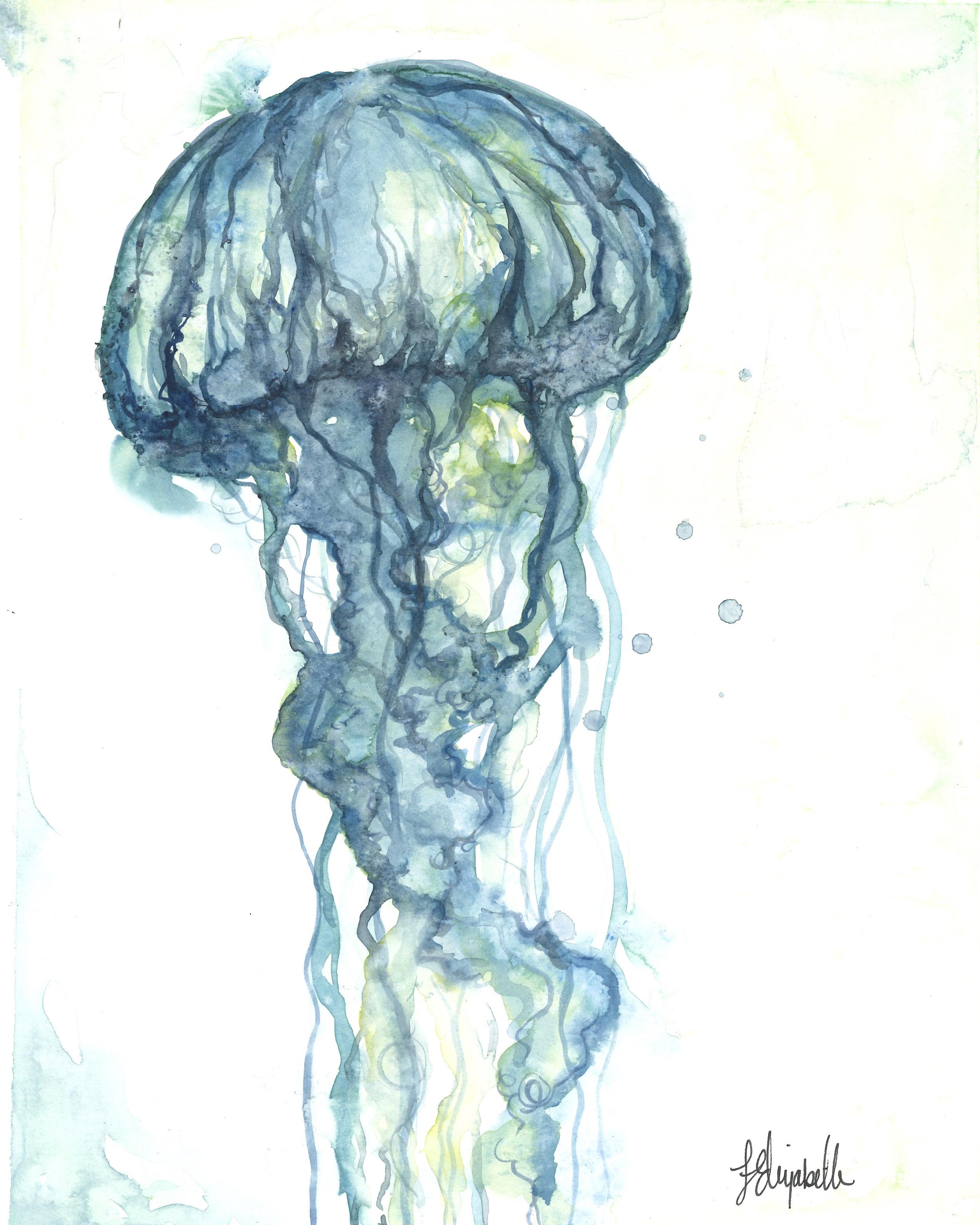 """Beach Days"" Jellyfish 1"