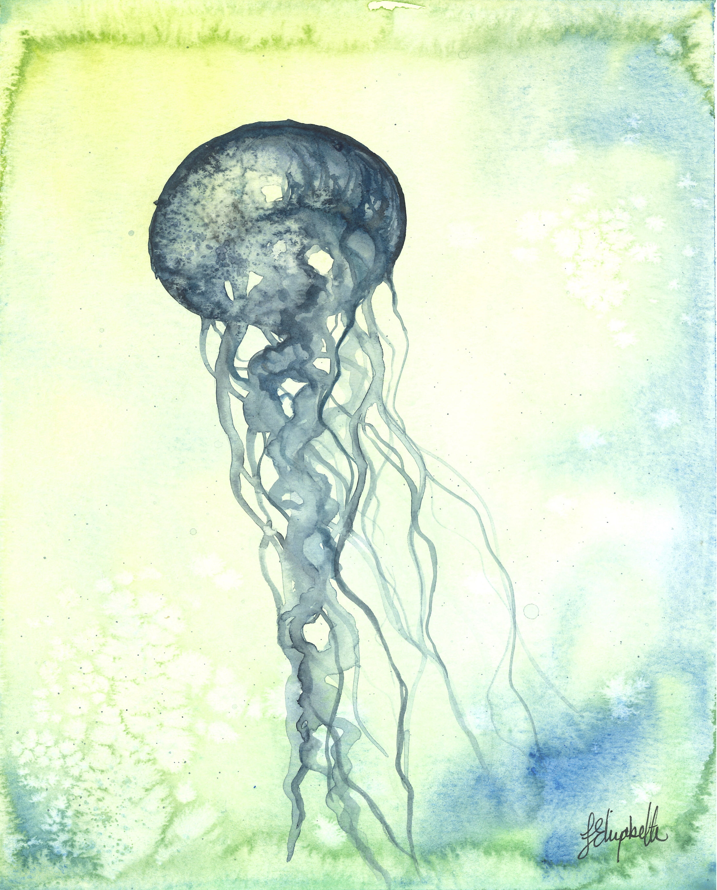 """Beach Days"" Jellyfish 3"