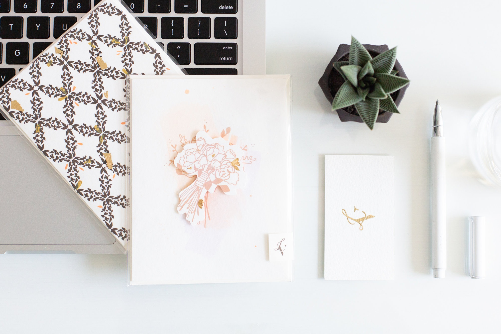 Alexandra from  Alexandra Del Bello Photography  was so sweet and took the most lovely photos of some  LVD stationery . See the end of this post for more!