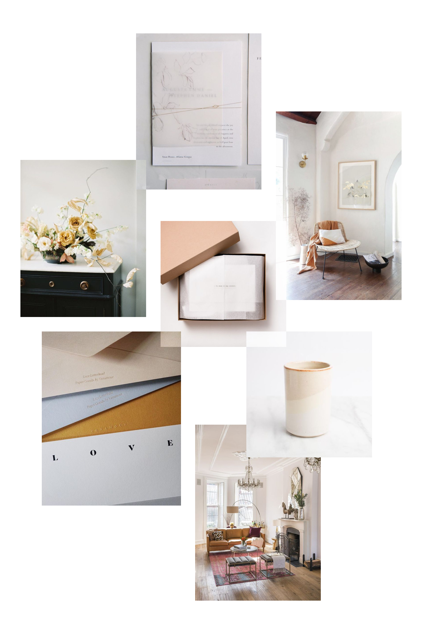 Images via:  Idyll Paper  /  Kelly Lenard  /  Noissue  /  SF Girl by Bay  /  Venamour  /  Belove  /  West Elm