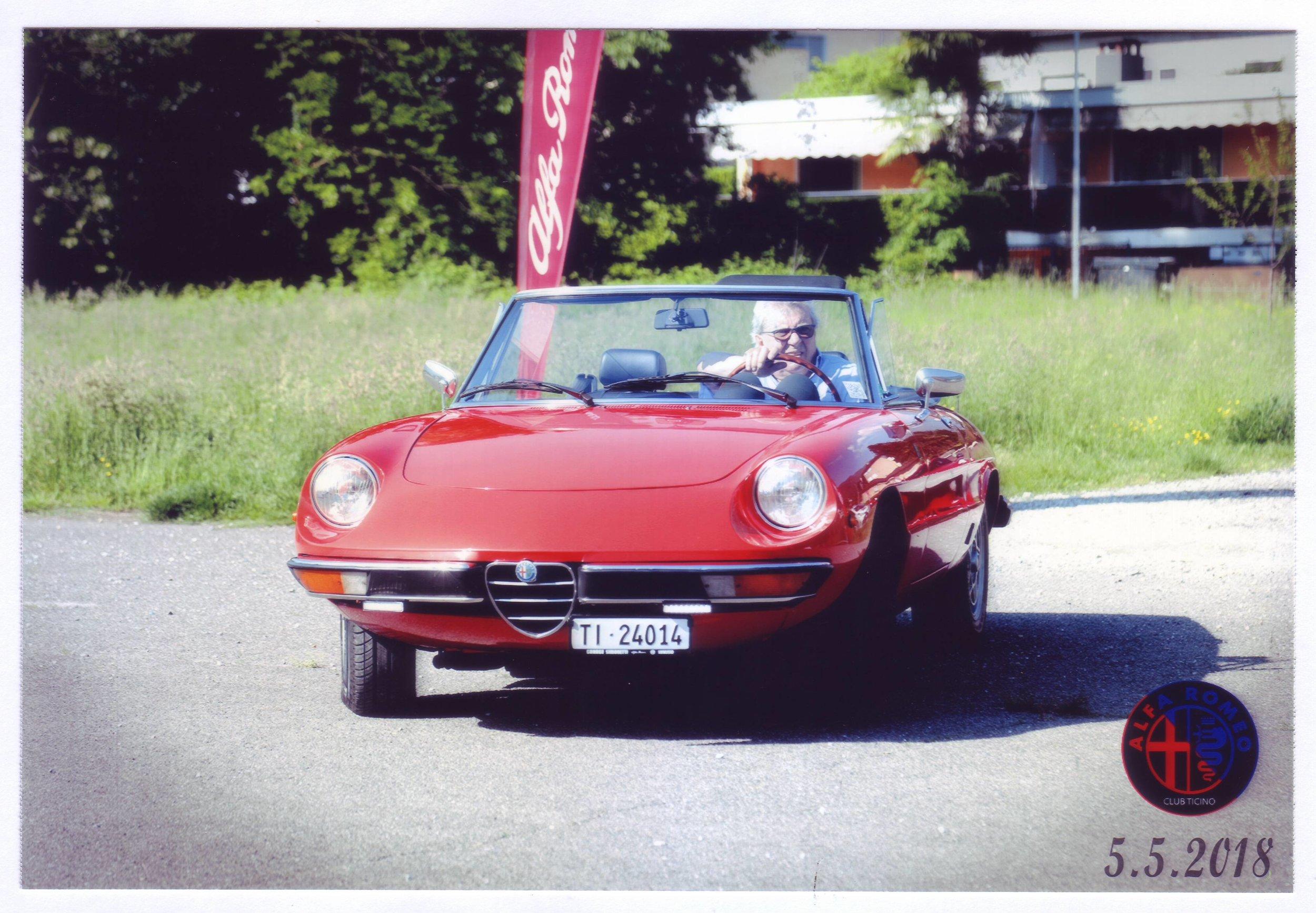 La Cabrio di Emanuele - Spider 2000 del 1980, da Tenero