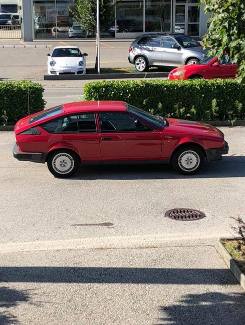 La Sportiva di Claudio - Alfa Romeo GTV6 2.5, da Tenero