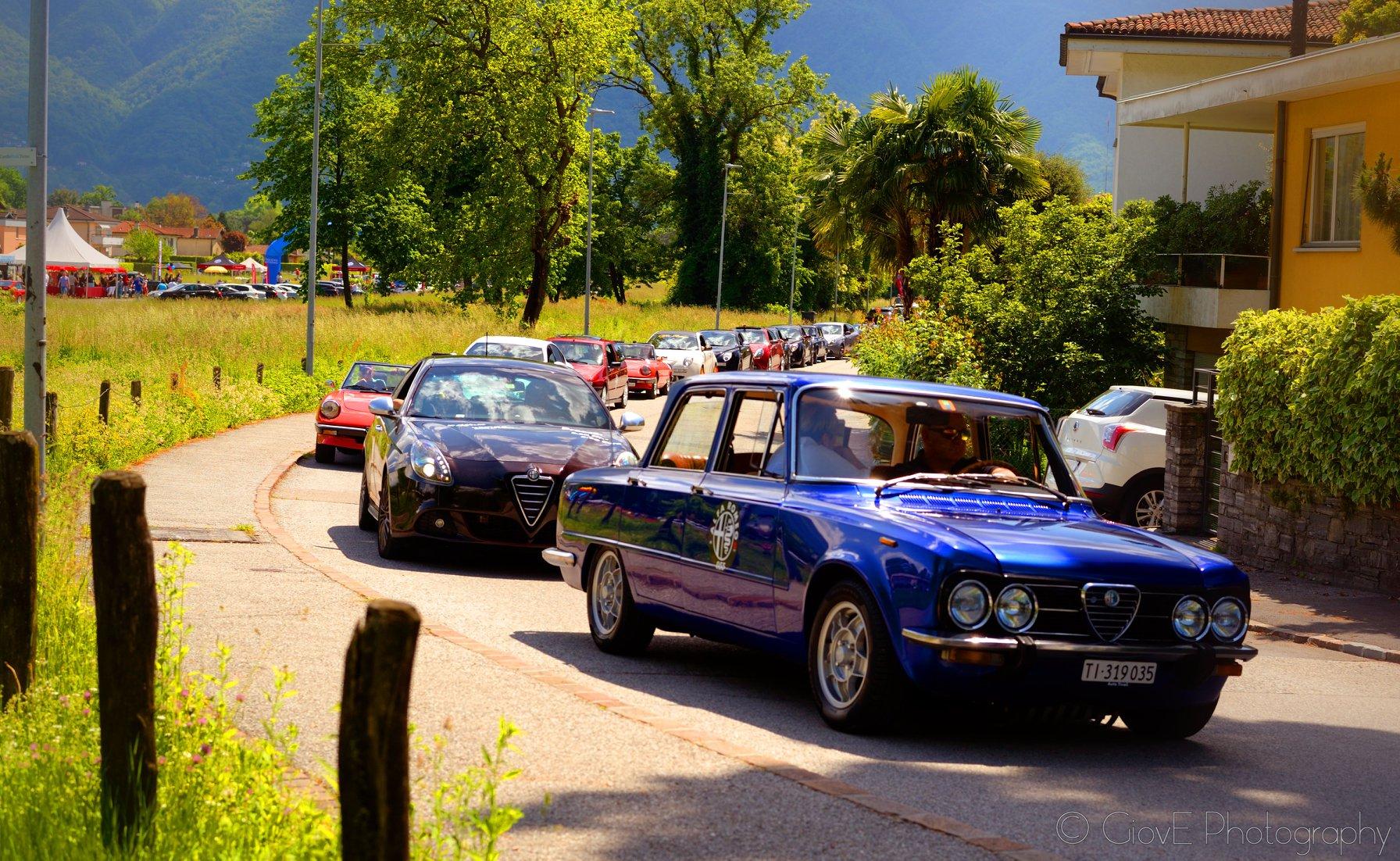 La Bimba di Marco - Alfa Romeo Giulia Nuova Super 1975 da Novazzano