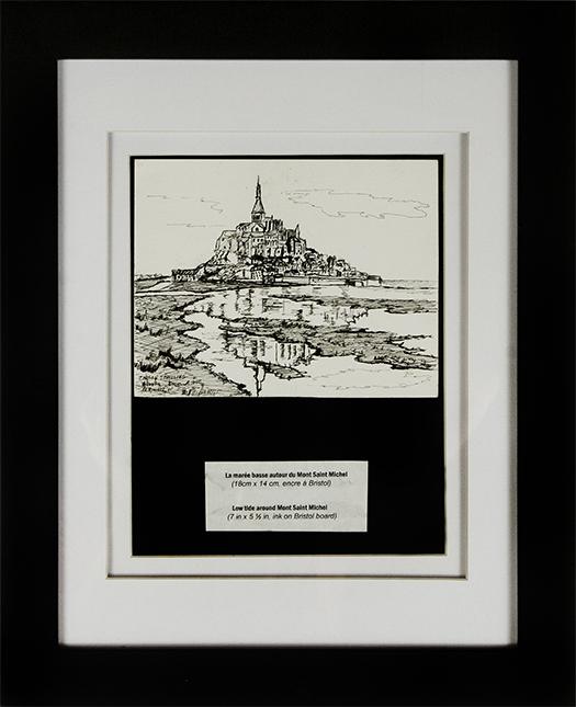 Mont St.Michael, France.