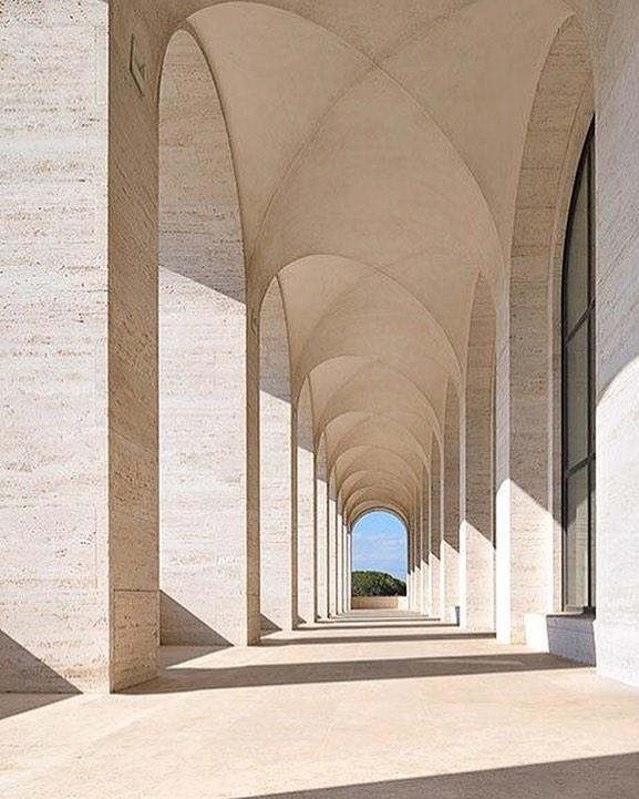 Majestic ✨ - Palazzo Della Civiltà Italiana  #fendiheadquarters #italy #legacy