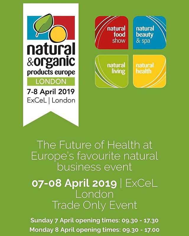 We're off to London at the weekend for this fabulous trade show, if you're coming we're on stand R2 with @soilassociation come say hi #London #tradeshow #organic #organicghee