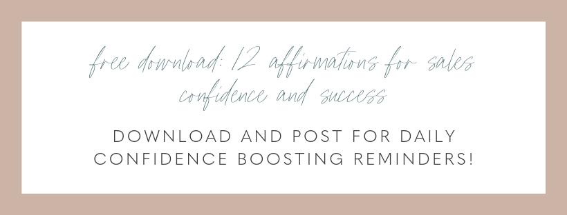 free download - 12 affirmations for sales confidence