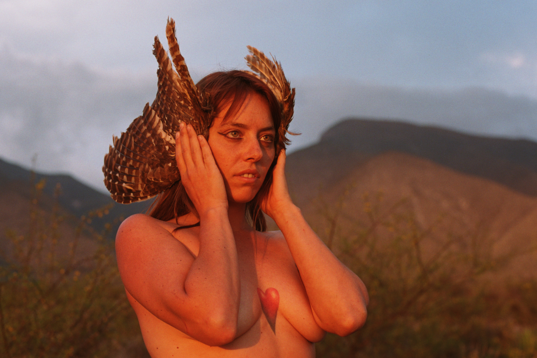 --- She's my guide  --- #clairesashinephotography #clairesashine #photography #35mm #film #travel #cactus #nomadlife #ceremony #spiritual #ontheroad #welivetoexplore #Mexico #Catorce #realdecatorce #sacredfeminine #goddess #divinefeminine #witch #womenempowerment #wings #owl #heart #shaman #sunset #nude #nature #naked
