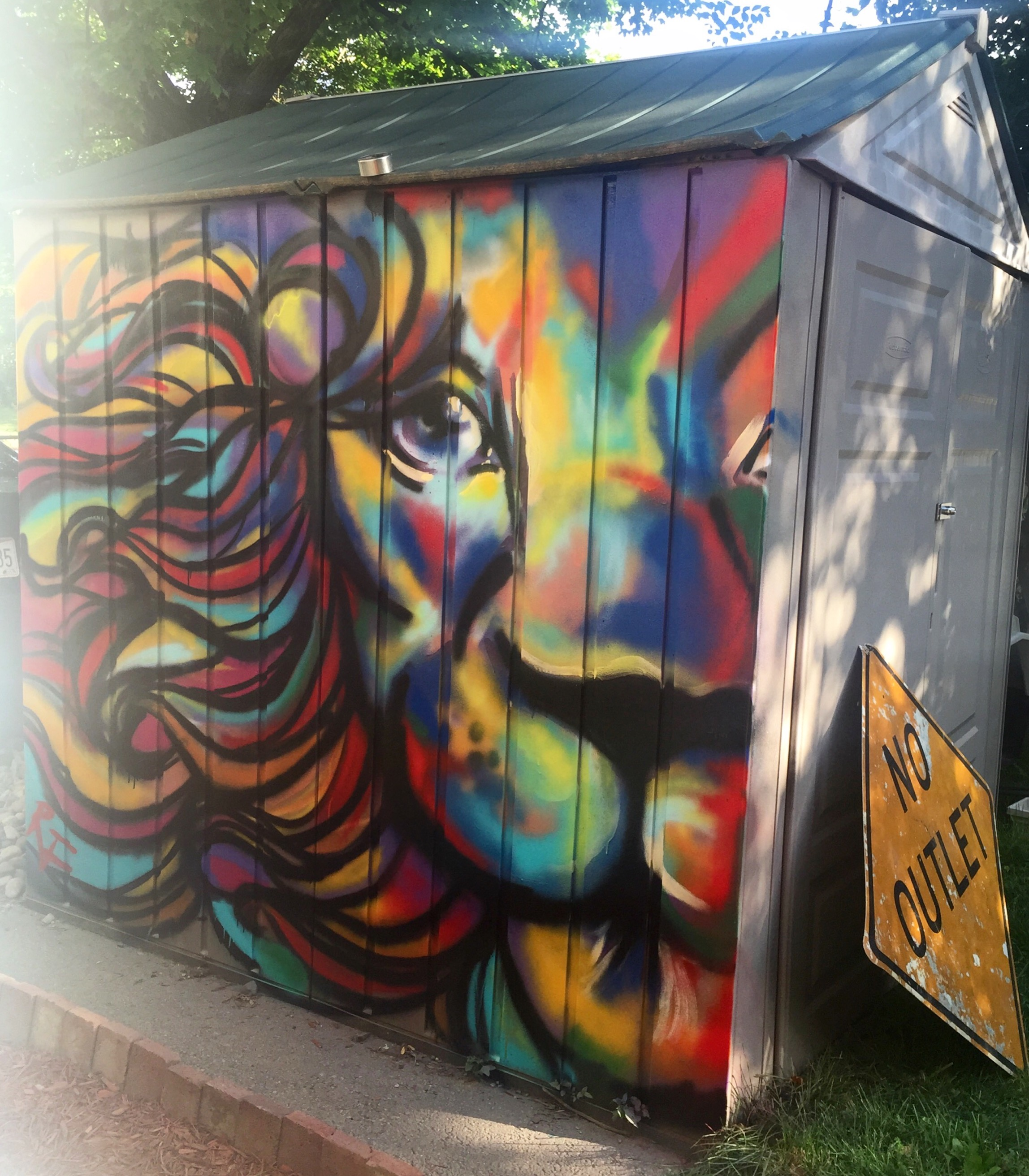 Mural  Spray paint
