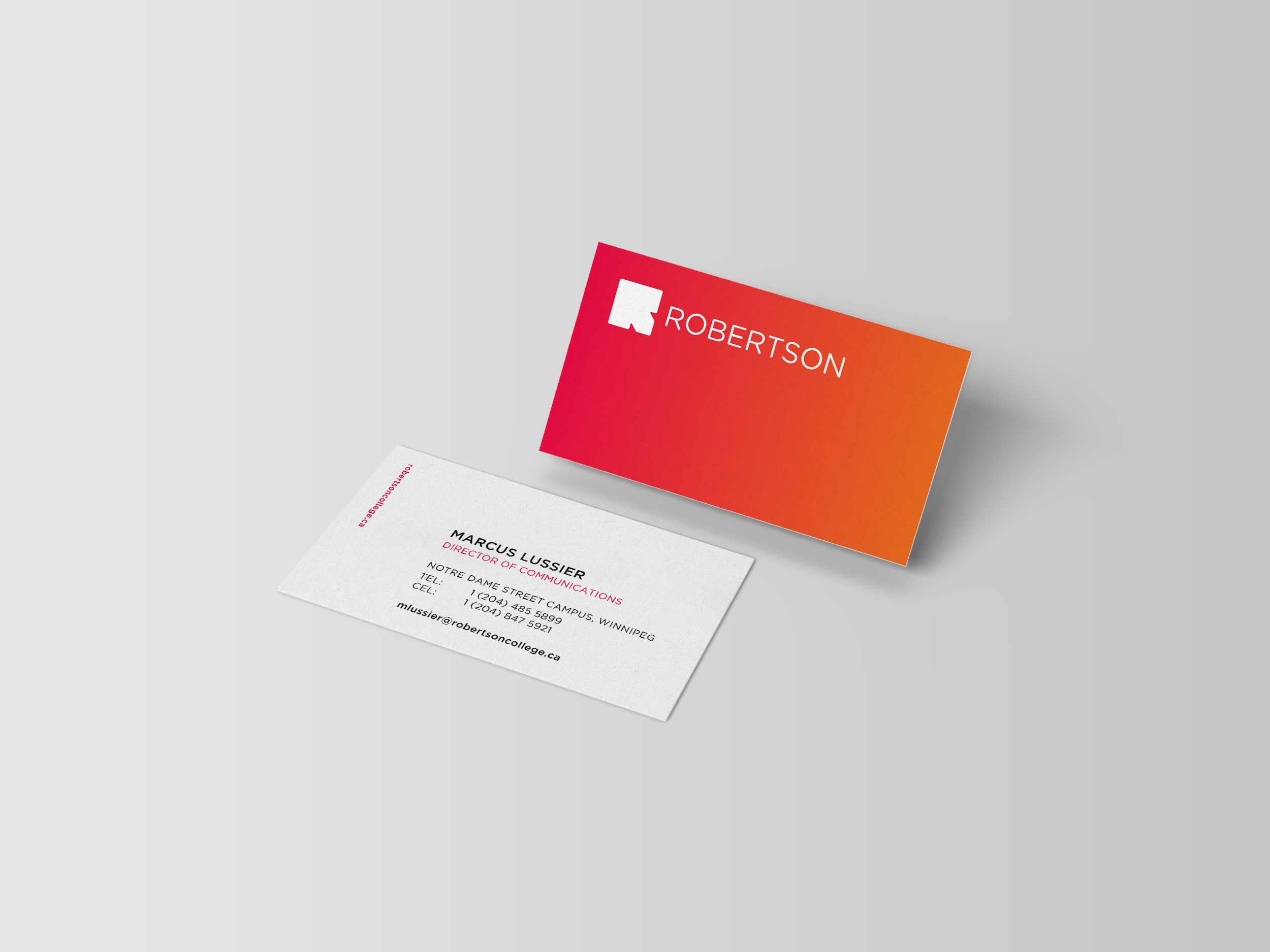 Robertson-College_Business-Card