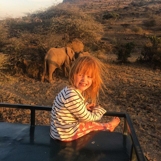 "• OL MALO • ""And at the end of the day, you feet should be dirty, your hair messy and your eyes sparkling"" - Shanti ✨ (a little quote put up by @thelondonchatter a few weeks ago whilst staying with us and very fitting for the feeling you should have on Safari ) 🐘"