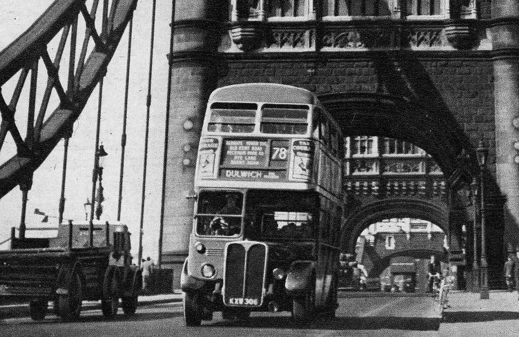 In 1952, Tower Bridge began to open while a double-decker bus was still on it. The number 78, which was driven by Albert Gunton, had to accelerate and jump a small, three-foot gap. He was awarded £10 for his bravery.