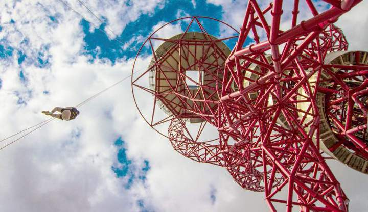 Copy of THE ARCELORMITTAL ORBIT ABSEIL