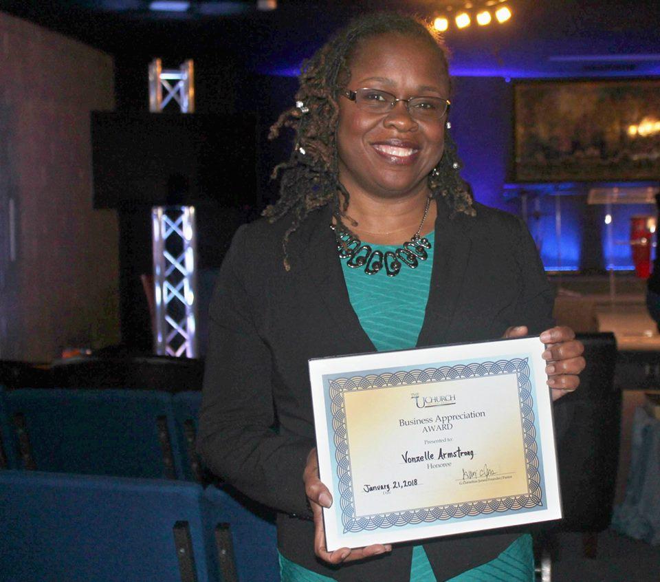 VJ Events honored by U Church