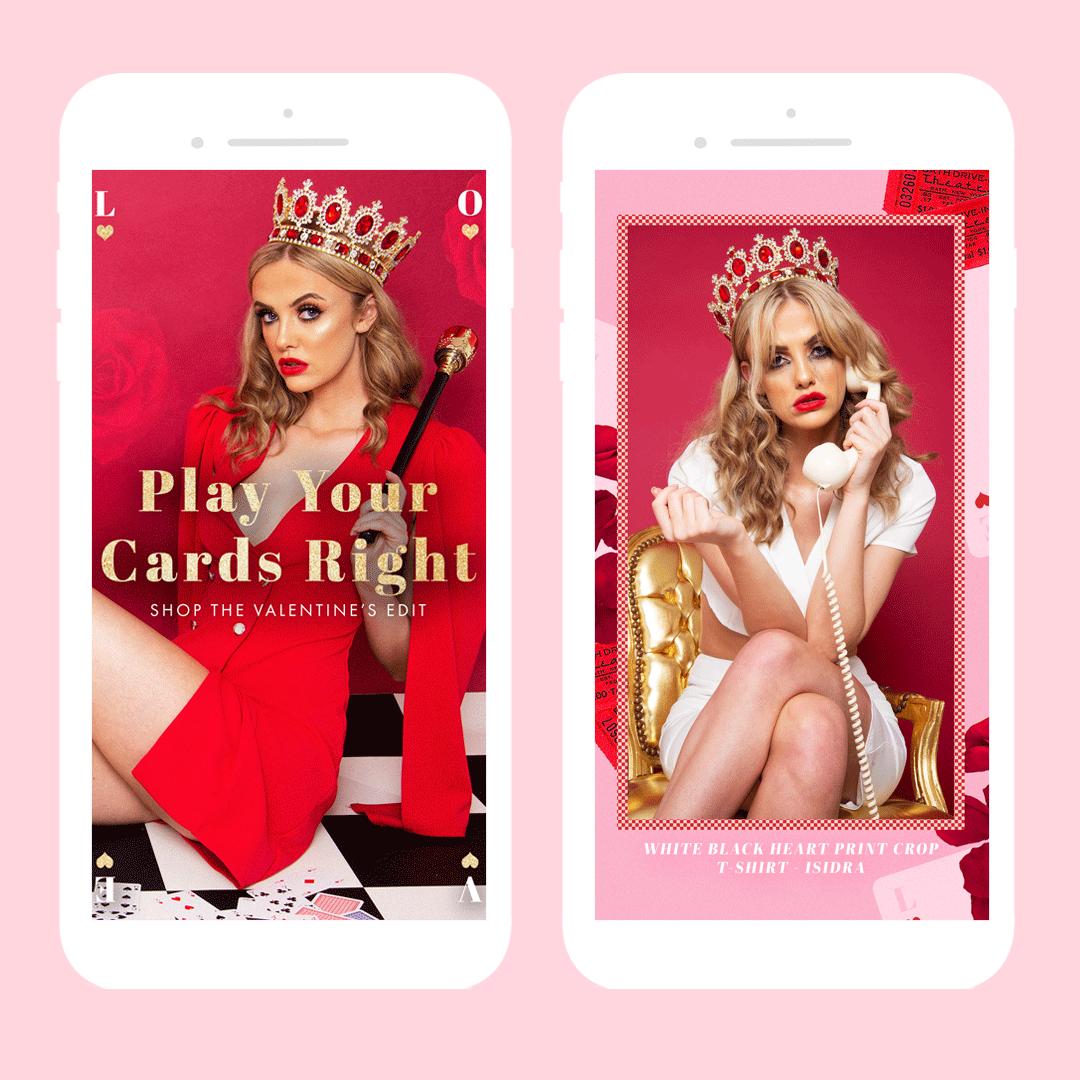 Lorna Collins Design ─ Valentine's Campaign