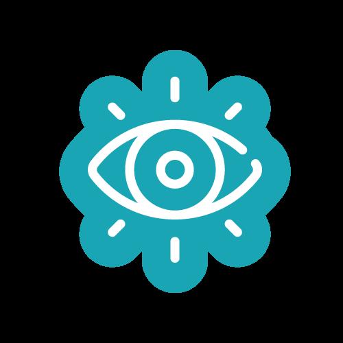 Terapia Ocupacional - Se realiza la evaluación e intervención en trastornos de la oculo-motricidad. Está dirigida a la educación y reeducación de los diferentes trastornos asociados a la oculomotricidad y a los problemas de la estrategia de la mirada como son: fijación, seguimiento, exploración visual en niños/as que presentan factores de riesgo neurológico.