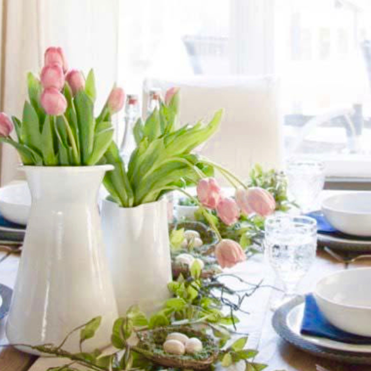 Spring Tulips everyone's Easter favorite….  PC Crazyforus