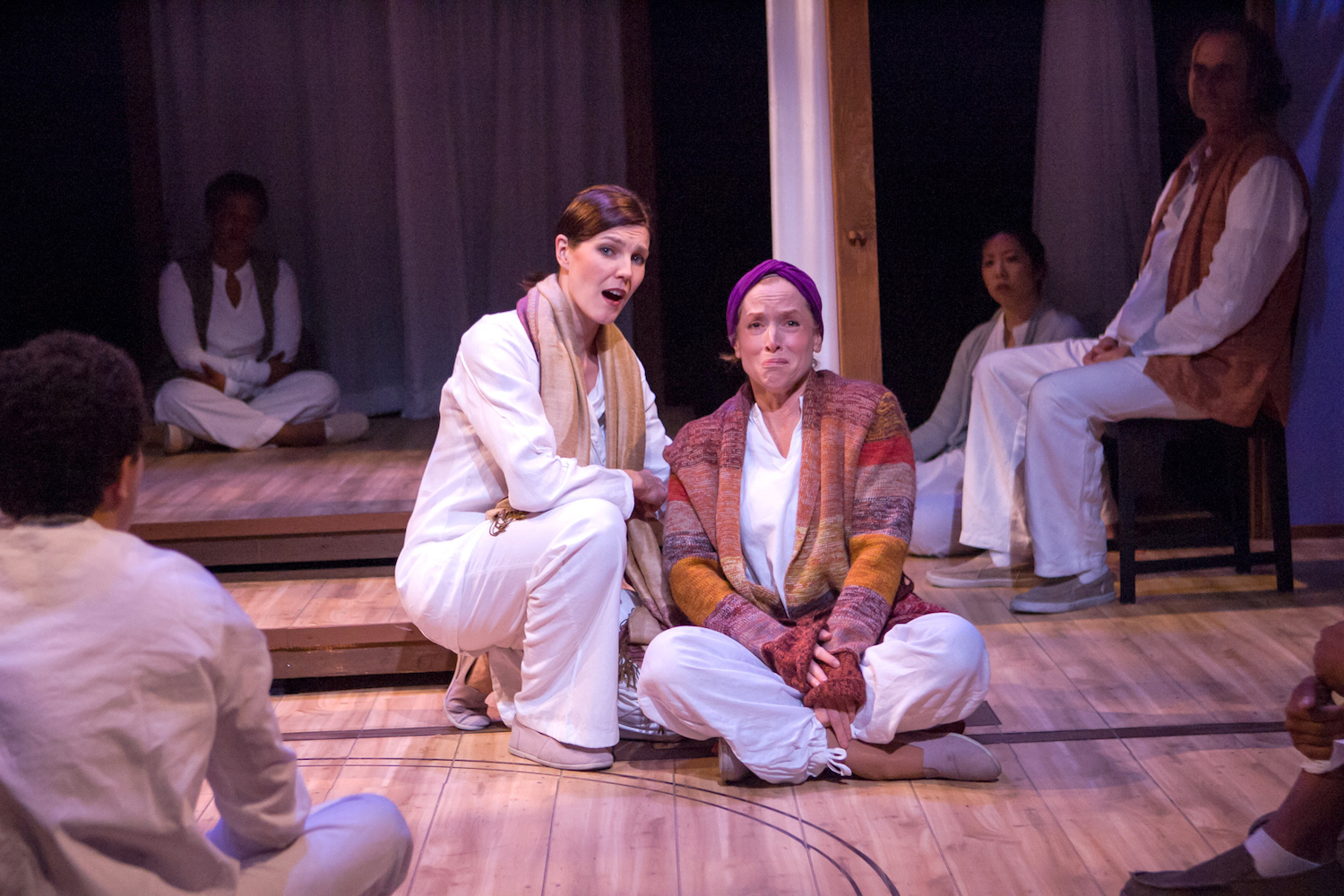 Annemaria Rajala (Sid), Bekka Fink (Myra). Ashby Stage. Photo: Mike Padua.