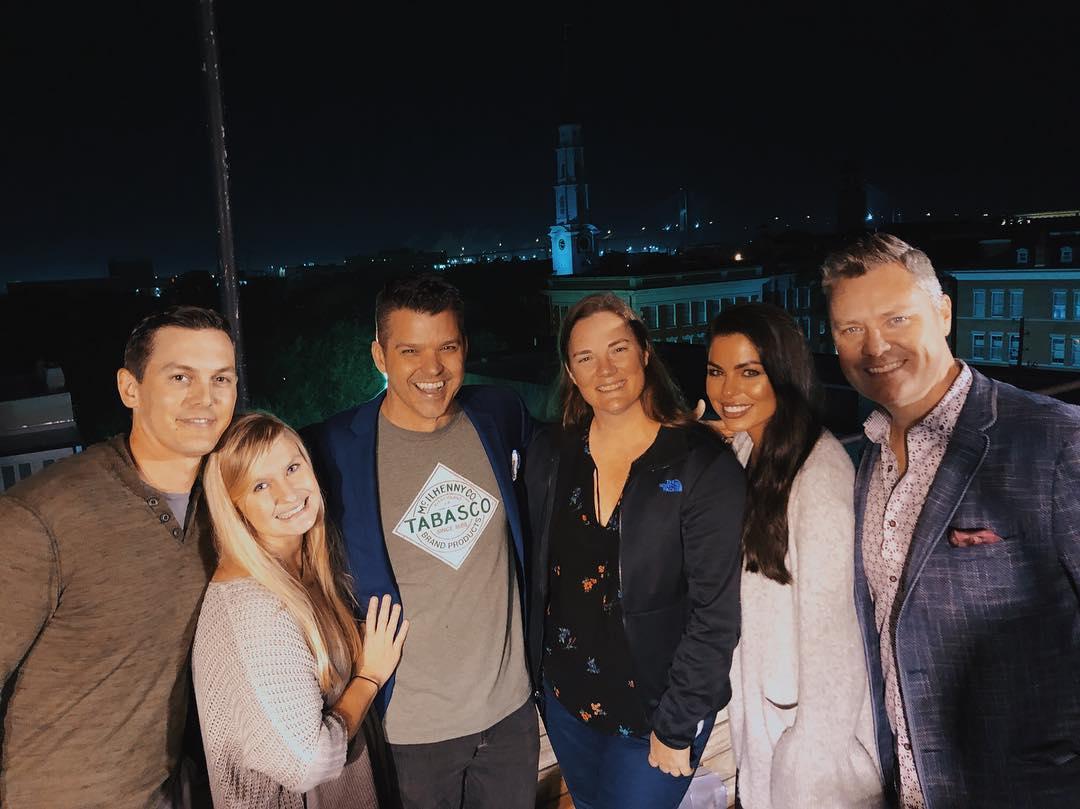 Patriot Advantage team members and clients from left to right: Brett Baker, Kristi Horton, Clay Johnson, Rachael Owen, Mary Elaine Baker, and Jeremy Davis.