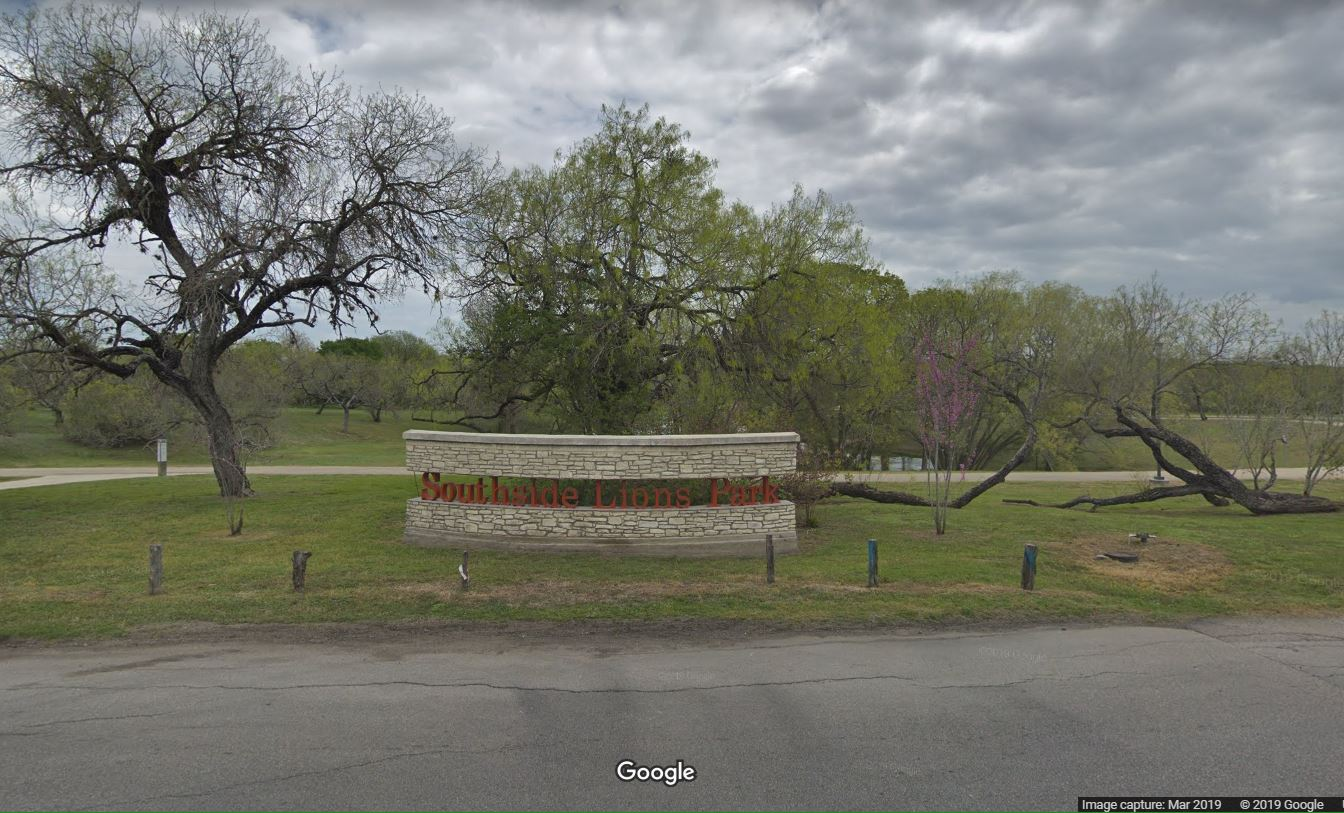 Entrance to Southside Lions Park (Photo: Google Streetview)