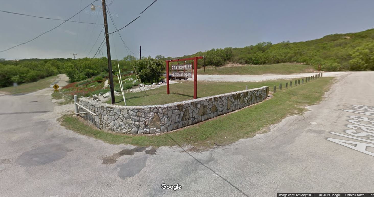 Entrance to Castroville Regional Park (Photo: Google Streetview)