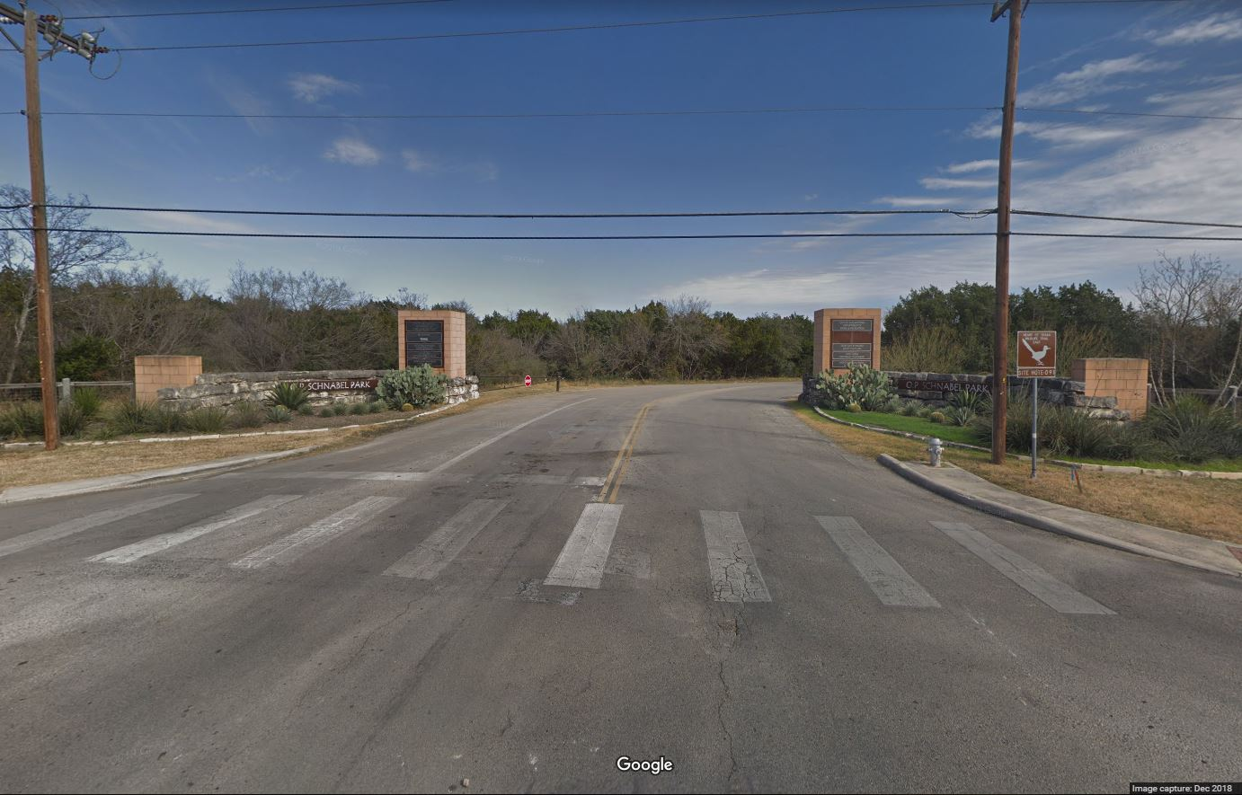 Entrance to OP Schnabel Park (Photo: Google Streetview)