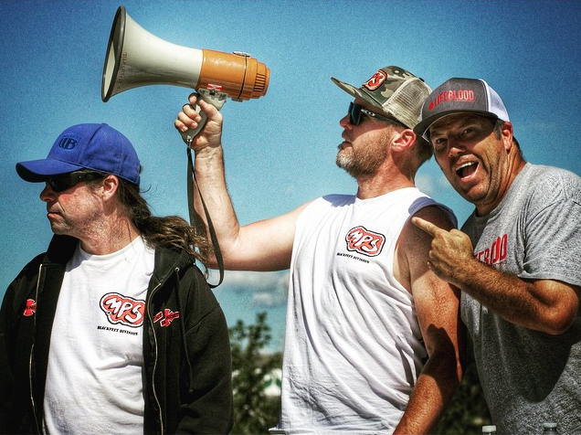 Contest judges Jim Murphy, Jeff Ament and Bryce Kanights