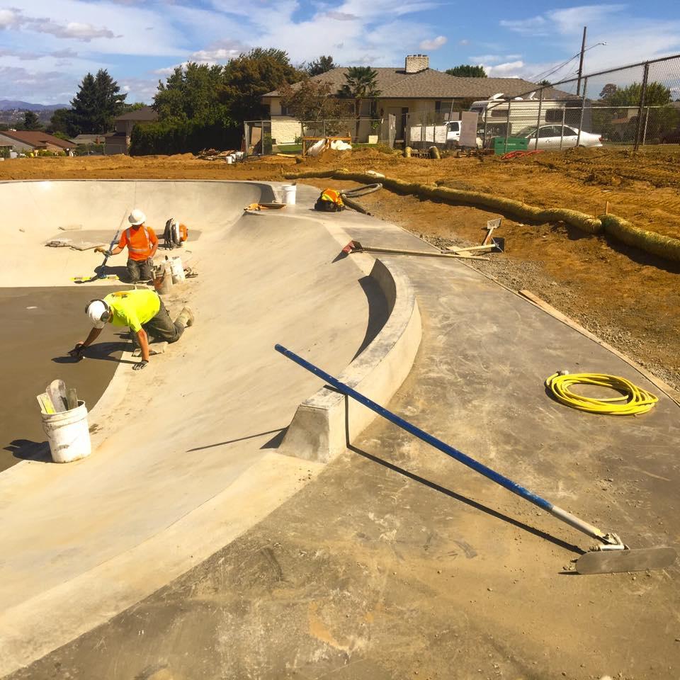Luuwit Park Skate Spot Construction