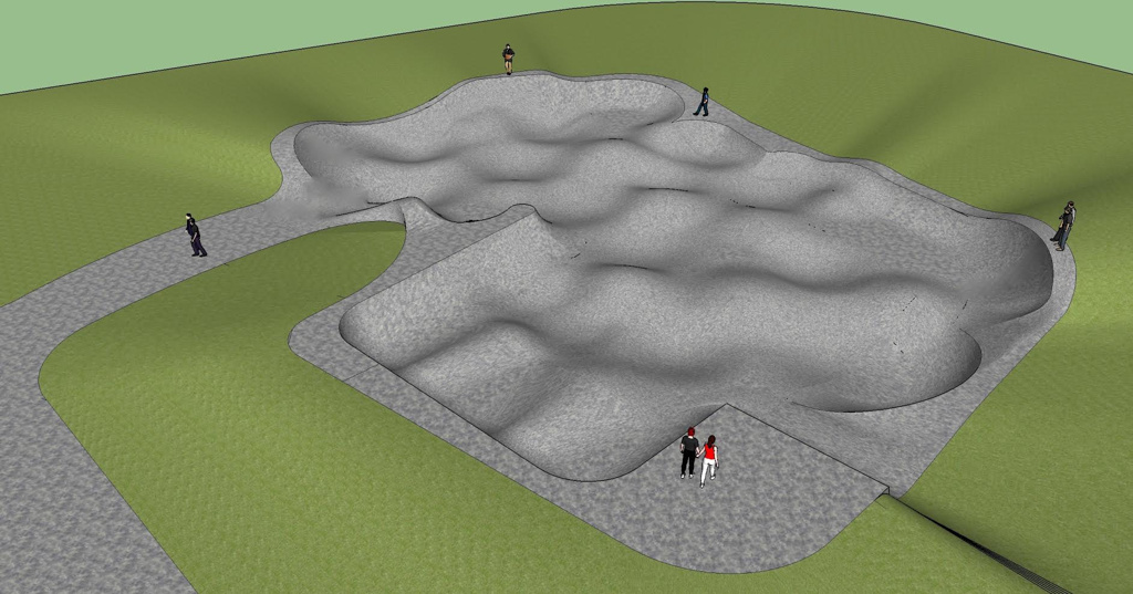 Rockridge Skatepark Concept